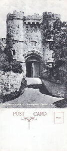 1920-039-s-THE-GREAT-GATEWAY-CARISBROOKE-CASTLE-ISLE-OF-WIGHT-UNUSED-POSTCARD