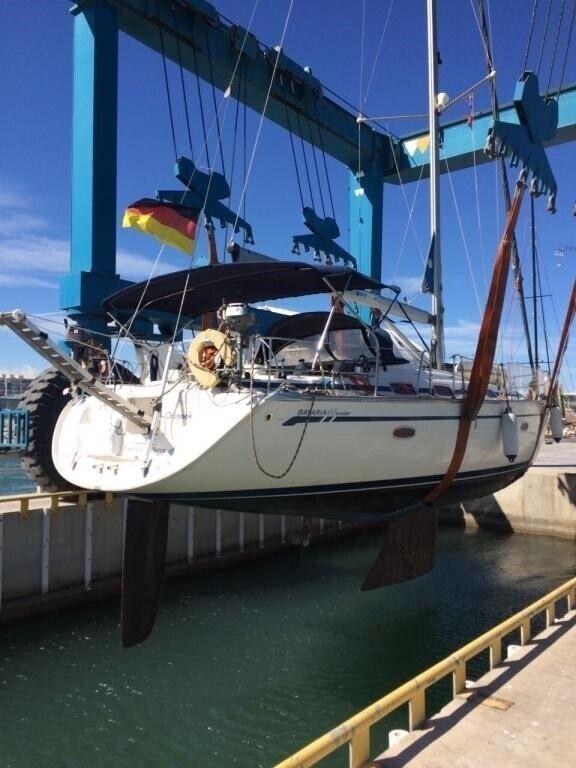 Bavaria 46 Cruiser, årg. 2008, skrogmateriale glasfiber