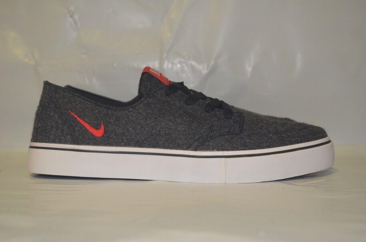 Nike Braata LR Premium Black University Red White 458696-061
