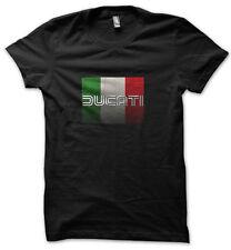 DUCATI CORSE 2 T-Shirt Tee Black Size S, M, L, XL, 2XL, 3XL