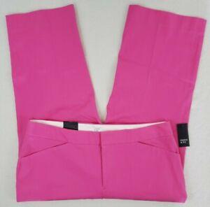 Crown-amp-Ivy-Cropped-Pants-Womens-Plus-Size-16W-Pink-Stretch-Denim