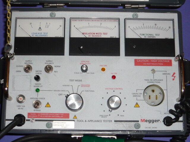 Biddle Instruments Tool Appliance Tester Meter Cat 235302 For Sale Online Ebay