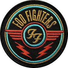 FOO FIGHTERS AUFBÜGLER / EMBROIDERY PATCH / AUFNÄHER # 3 - 8cm