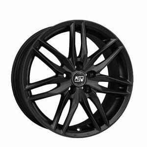 Dettagli Su Kit Cerchi In Lega Oz Msw 24 Matt Black 8 0x19 Per Audi Rs3 Sportback 4 Pz