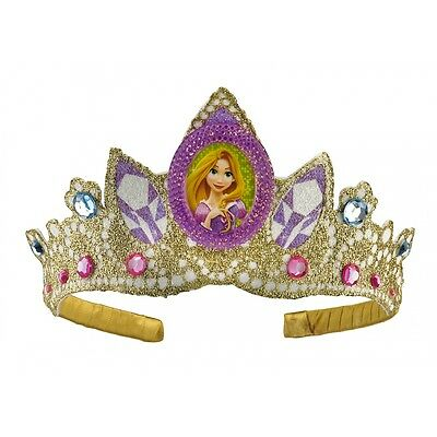 Tangled Rapunzel Tiara Kids Girls Disney Princess Crown Halloween Costume Acsry