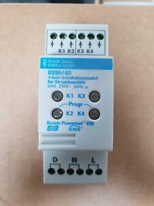Busch-Jaeger-Powernet-EIB-KNX-Schaltaktor-4fach-6995-40-mit-Funktionsgarantie