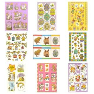 American greetings set of two sticker sheets easter holiday bunnies image is loading american greetings set of two sticker sheets easter m4hsunfo