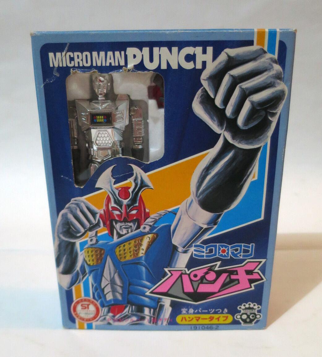 Vintage Takara Microman Punch P.03 Micronauts Diaclone Transformers 1980 Japan
