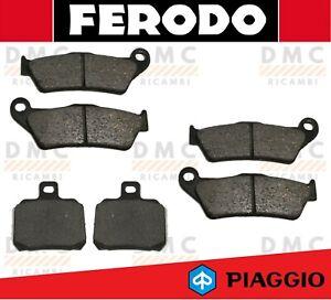PASTIGLIE FRENO ANTERIORE FERODO FDB2018EF PIAGGIO X9 EVOLUTION 500 2003-2007 Ricambi e accessori per auto e moto Freni moto