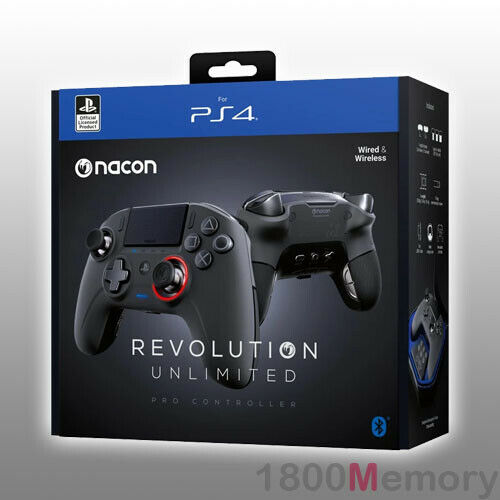 Nacon Revolution Unlimited Pro Controller Game Pad for Sony PlayStation 4 PS4