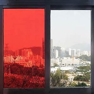 "RED NON REFLECTIVE 3O/""x10/' PROLINE WINDOW FILM COLOR GRAPHICS TINT POLARIZADO"
