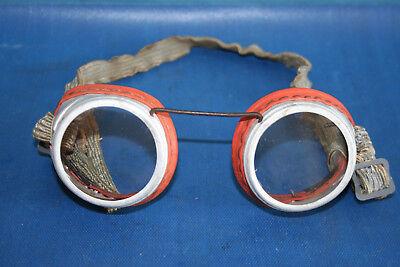 Alte Schutzbrille, 50 ´- 60 ´er Jahre, Augenschutzbrille Für Schleifarbeiten