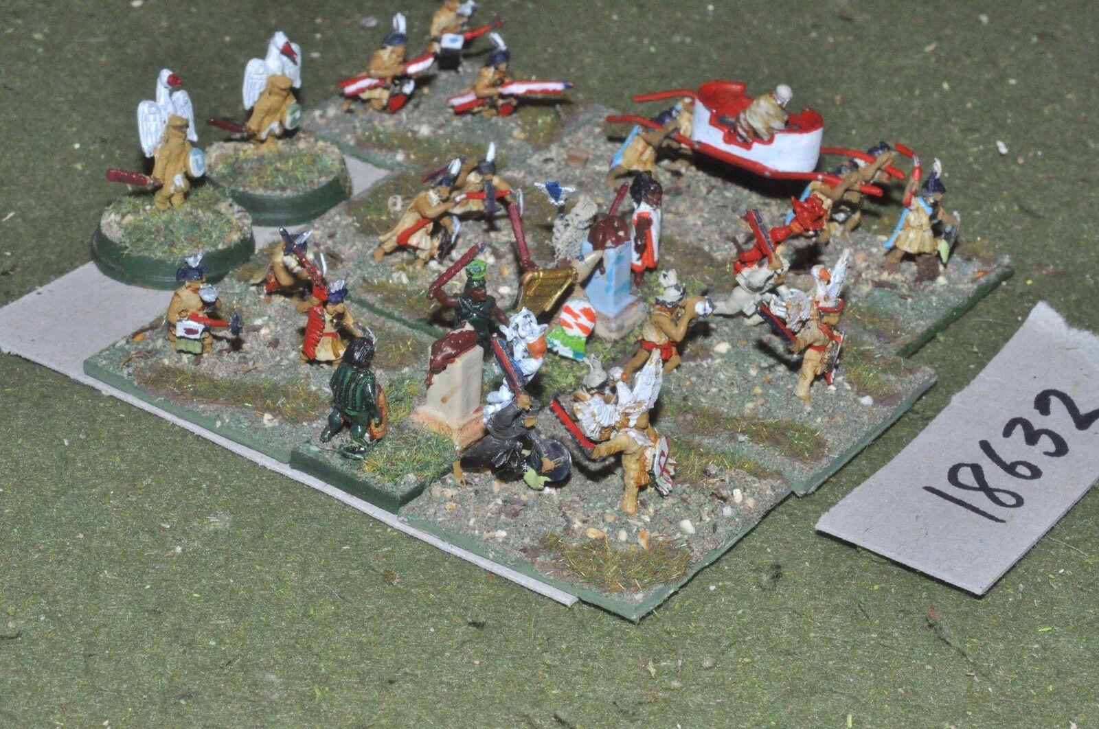 15mm renaissance   aztec - commanders - command (18632)