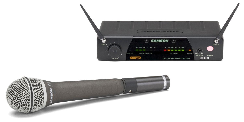 Samson Airline 77 handheld Wireless Micrófono System e2 nuevo embalaje embalaje embalaje original freuhaus  precios mas baratos