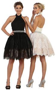 NEW GRADUATION SHORT DRESS SEMI FORMAL DANCE PARTY HOMECOMING CUTE ... 9f22349ad