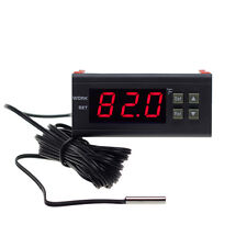 120110vac Fahrenheit All Purpose Temperature Controller Relay 58 194 10 Sensor