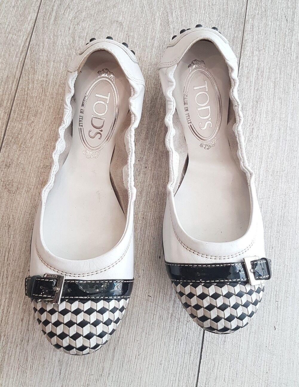 Ballerinas TOD& 039;S   Sehr Guter Zustand   Schuhe Halbschuhe Größe 35 Tods schuhe
