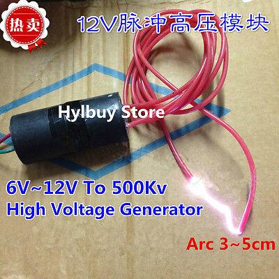 DC6v~12V to 500Kv High voltage Generator Inverter Boost Power Module