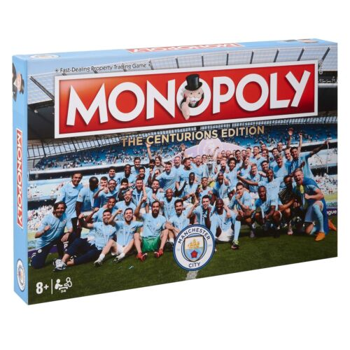 Manchester City Fußball Sport Champions 2017 18 Monopoly The Centurions Edition