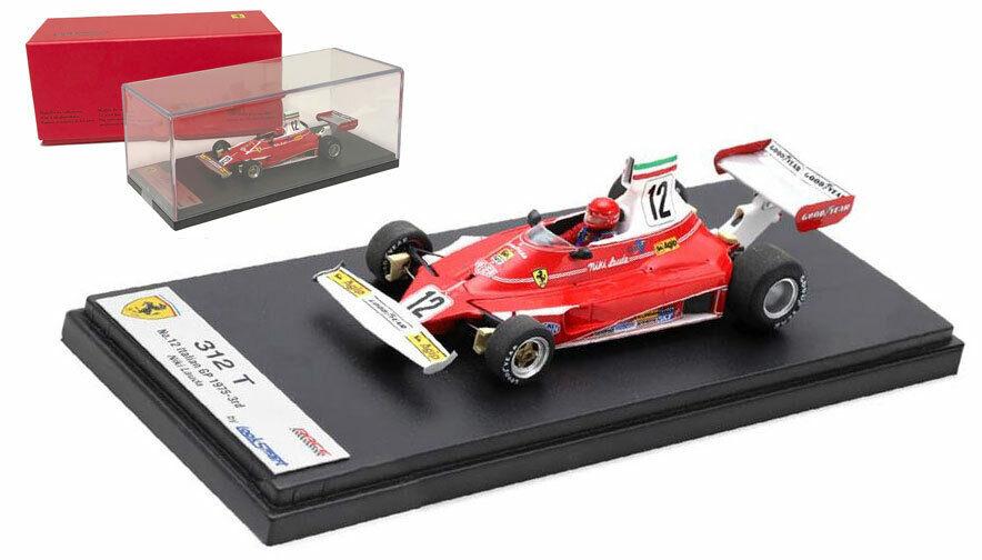 Looksmart LSRC61 Ferrari 312T Italian GP 1975 World Champion - Niki Lauda 1 43