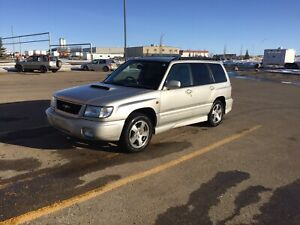 1999 Subaru Forester St-b Low Kms