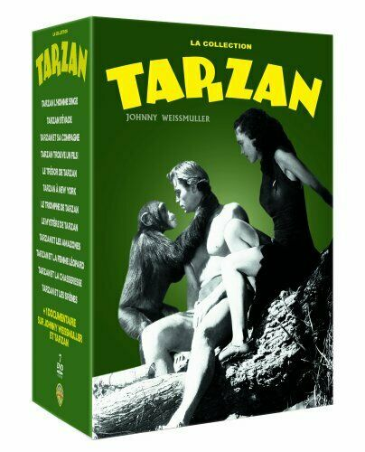 The Tarzan Collection 7 DVD BOX - Johnny Weissmuller [ IMPORT ] UK FORMAT