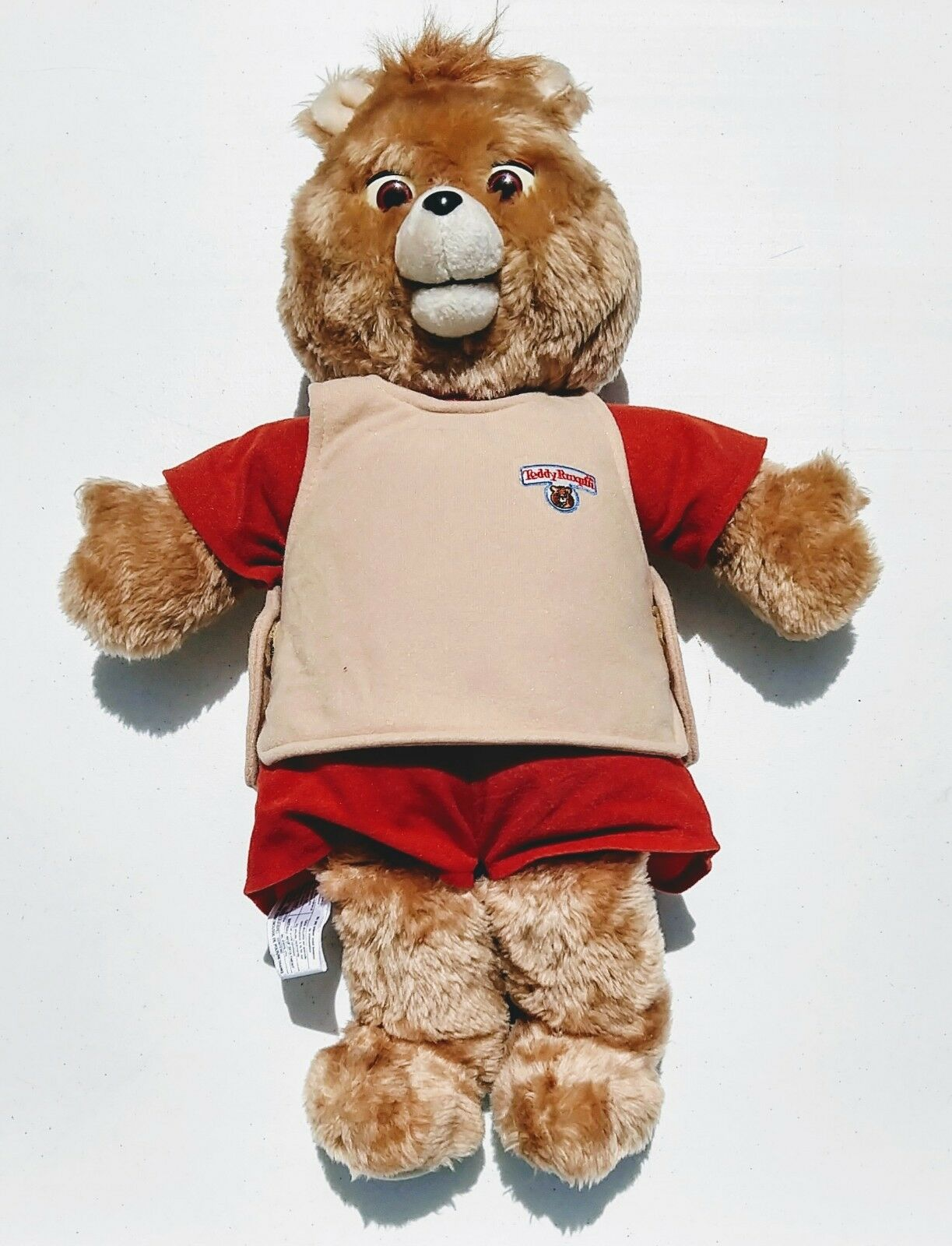 1985 World of Wonders Teddy Ruxpin with Christmas Summertime libros Tapes Outfits