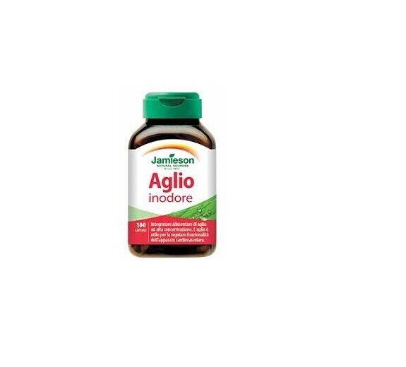 Jamieson AGLIO INODORE - 100 capsule- Offerte Online Farmacia Savorani