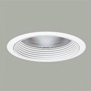 Halo 406wwb ceiling recessed lighting 6 cfl baffle trim with image is loading halo 406wwb ceiling recessed lighting 6 034 cfl aloadofball Images