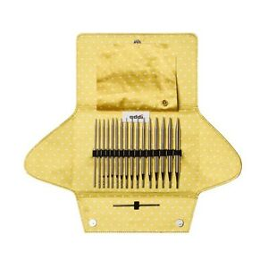 Addi-Clic-MEZCLA-8-Par-Puntas-CLAVO-3-Rojo-Hilo-agujas-en-juego-670-7-670-2