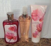 Cherry Blossom Bath & Body Works Fragrance Mist Spray ,gel,body Cream