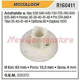 Puleggia avviamento MCCULLOCH motosega Mac 538 540 545 730 735 R160411