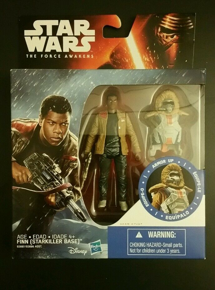 Star wars force weckt finn (starkiller base) action - figur