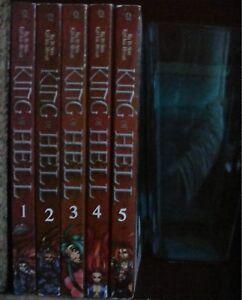 King-of-Hell-1-5-Lot-of-5-Shonen-Manga-Manhwa-English-13-Ra-In-Soo