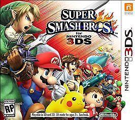 SUPER SMASH BROS. * NINTENDO 3DS * BRAND NEW FACTORY SEALED!