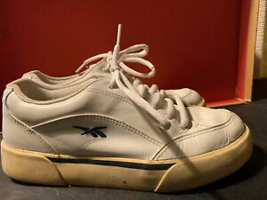 reebok classic vintage 1989 women's white leather casual