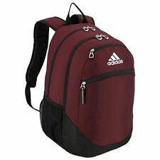 adidas Unisex Striker II Team Backpack Maroon black white One Size ... 8f0f98575267d