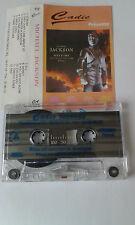 MUSIC CASSETTE TAPE ALBUM, IMPORT,  MICHAEL JACKSON  PRESENTE HISTORY   CADIC
