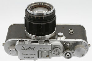 LEOTAX-Showa-Optical-Co-Ltd-Japon-vers-1952-Objectif-Leotax-Leonon-2-5-cm