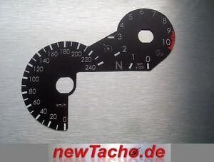 Bmw-r1200gs-LC-a-partir-de-2013-retorno-Inserto-velocimetro-disco-km-h-gauge-velocimetro-dial