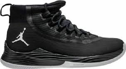 Men's Nike Jordan Ultra Fly 2 897998 010 size 10.5-12 Black Basketball Shoes