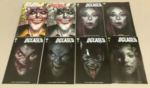 DCEASED-1-6-HAIRSINE-OLIVER-JETPACK-COMICS-FORBIDDEN-PLANET-MEGA-SET-DC-Comics