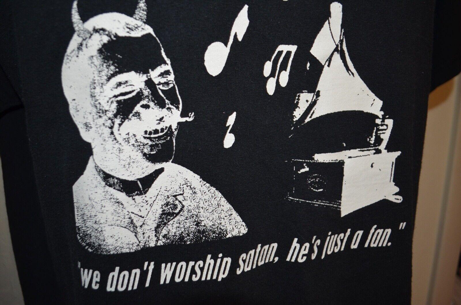 Screaming Monkey Boner Worship Satan NIN Metal Sy… - image 4