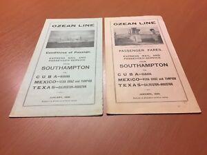Ozean-Line-M-V-Rio-Bravo-M-V-Rio-Panuca-2-Flyer-von-1926-RARITAT