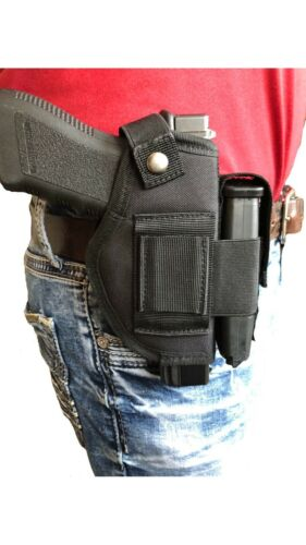 Nylon gun holster with magazine pouch for Hi-Point Yeet Cannon G1 YC-9
