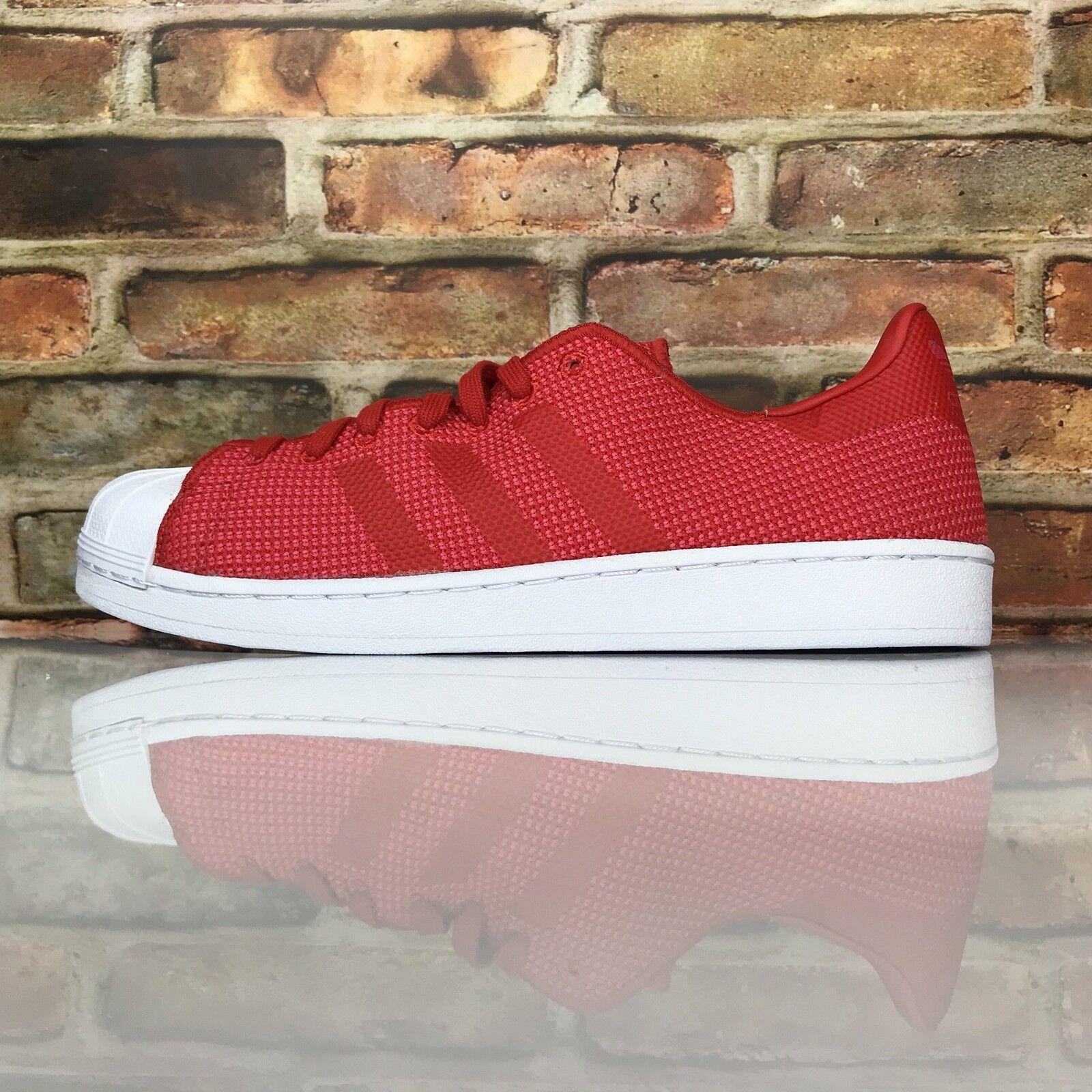 Adidas Superstar Originals da Uomo 10 Scarpe BiColoreeee Rosso Mesh BY8711 | nuovo venuto  | Uomo/Donna Scarpa