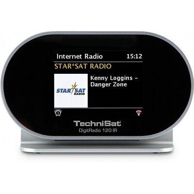 TechniSat DIGITRADIO 120 IR DAB+  Radio und Multiroom Streaming Adapter WiFi