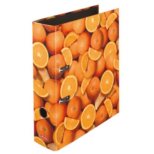 Herlitz Motivordner maX.file A4 8cm Orangen