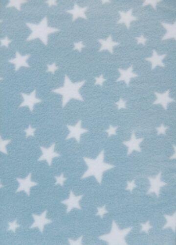 Polarfleece Anti-pille Stoff Premium-Qualität Weich Twinkle Star Druck PF227