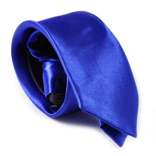Herren Reißverschluss  Krawatte Schlips Krawatte Klassisch Zipper Necktie Party